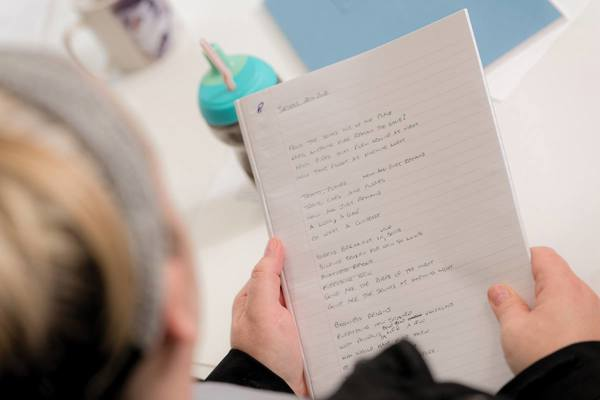 Creative Writing as rehabilitation at Headway Nottingham