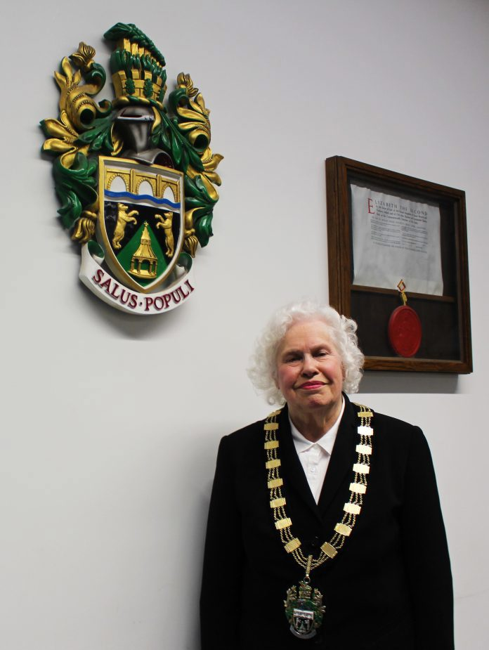 Councillor Christine Jeffreys is elected Mayor of Rushcliffe
