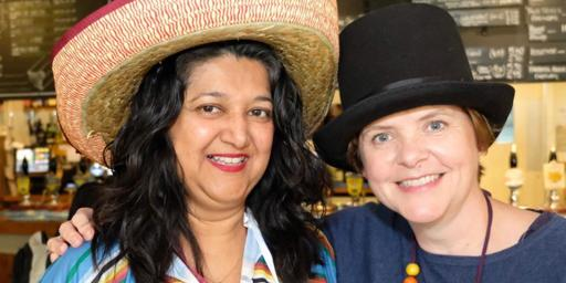 Hats for Headway Day at BNI Castle