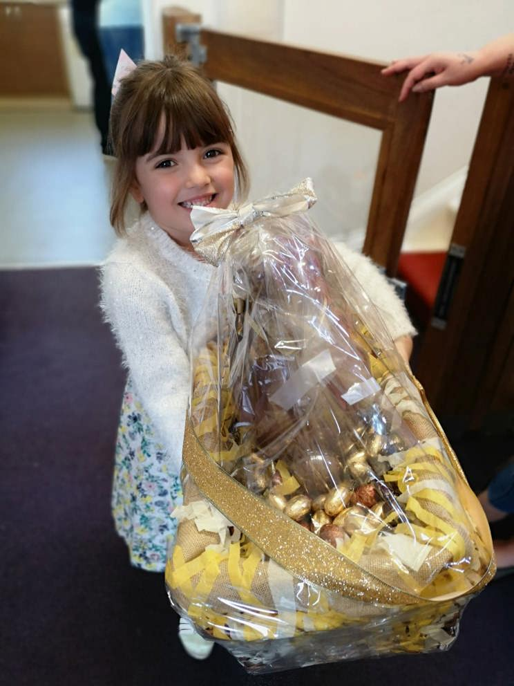 Khloe takes Bennet Bunny home after winning Headway Nottingham