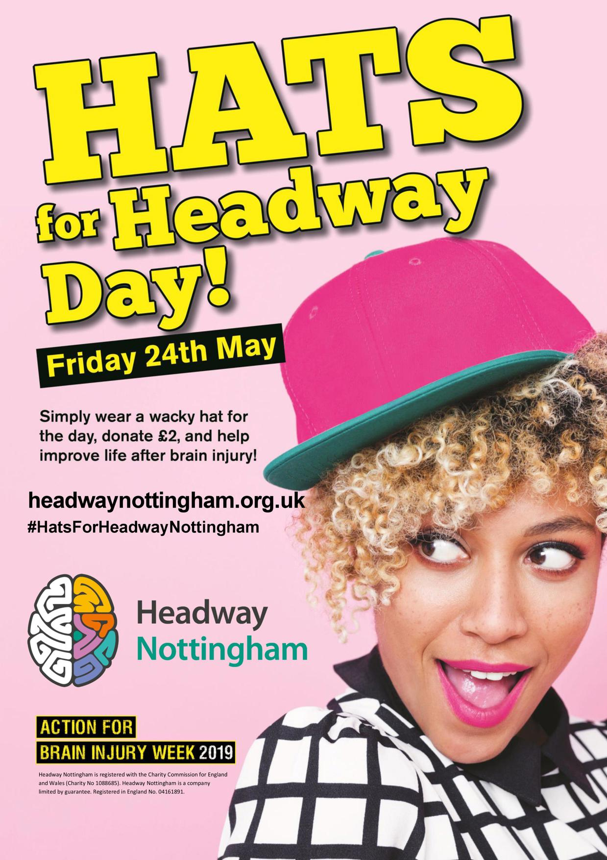 Hats for Headway Nottingham