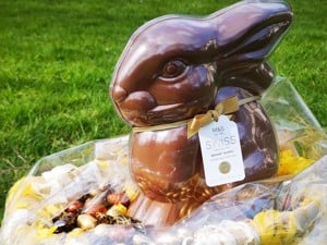 Win an M&S Chocolate Bunny in Headway Nottinghams Easter Raffle