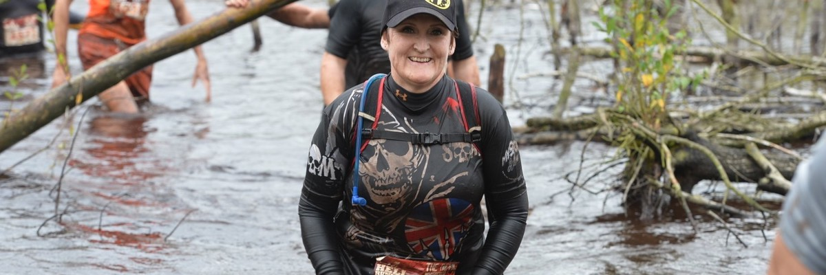 200 obstacles and 20 miles to rehabilitation