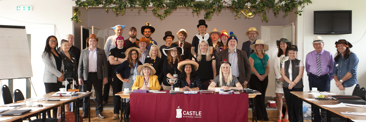 Hats for Headway Day @ BNI Castle